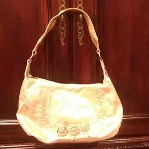 Wilson leather Rose Gold color bag